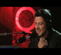 Cory Monteith in Studio Q
