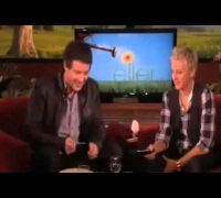 Cory Monteith Recreates His 'Glee' Audition on The Ellen Degeneres Show 2013