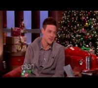Cory Monteith Talks Dating Lea Michele on Ellen!