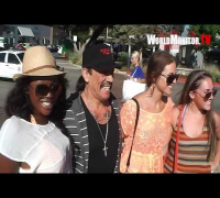 Danny Trejo on Vanessa Hudgens, Lady Gaga, Charlie Sheen,Mel Gibson, Amber Heard , Machete Kills