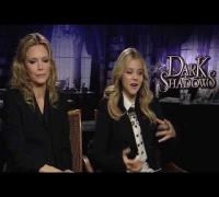 Dark Shadows Interview: Michelle Pfeiffer and Chloe Moretz