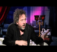 DARK SHADOWS interviews with Tim Burton, Michelle Pfeiffer, Chloe Moretz, Haley, Miller, Heathcoat