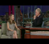 David Letterman, HQ, Natalie Portman, 11/07/08
