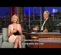 David Letterman Show - Charlize Theron