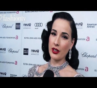 Dita Von Teese, Michelle Rodriguez, Alessandra Ambrosio at EJAF Oscars Party 2012 | FashionTV