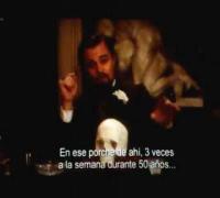 DJANGO UNCHAINED-Esena en la que Leonardo DiCaprio se corta la mano