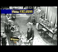 Does security camera surveillance show Lindsay Lohan stealing jewelry necklace forensic video expert