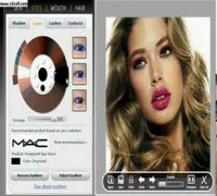 Doutzen Kroes- Beauty Make Over Photoshop