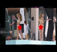 Doutzen Kroes Lets it All Hang Out - Splash News