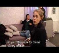 Doutzen Kroes Part 1/3 English Subtitles