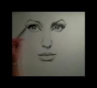 Drawing... Angelina Jolie