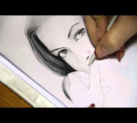 Drawing Anne Hathaway by CreativElya