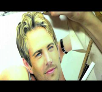 Drawing Paul Walker