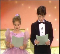Drew Barrymore & Henry Thomas Reading -  Golden Globes 1983