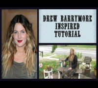 Drew Barrymore Inspired Tutorial