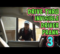 Drive Thru Invisible Driver Prank 3