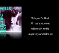 Electric Sky - Milla Jovovich Lyrics (HD1080)