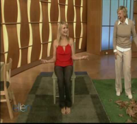 Ellen Degeneres's Obstacle Course for Cameron Diaz
