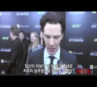 Embarrassed Benedict Cumberbatch Interview (Korean Subtitles)