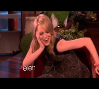 Emma Stone Clip from Ellen
