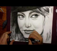 Emma Stone Drawing