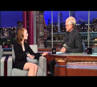 Emma Stone on David Letterman 1 HD