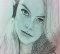 Emma Stone - Pencil Sketch