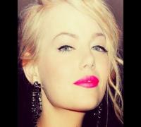 Emma Stone Simple & Gorgeous Pink Lip Makeup Tutorial