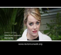 Emma Stone Supports EIF Revlon Run/Walk Against Women's Cancers