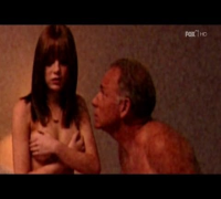 Emma Stone Topless and Getting Her Body Kissed by Some Old Guy from Medium (HD)