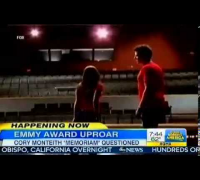 Emmys Cory Monteith Tribute causing a Stir