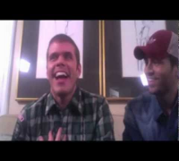 Enrique Iglesias & Perez Hilton Live Chat Archive (November 2011)