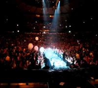 Enrique performing his Euphoria Tour in Tel Aviv, Israel