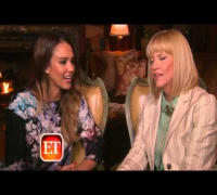 Entertainment Tonight with Jessica Alba for Mother's Day at Parq Bar