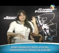 Entrevista con Michelle Rodriguez Historia de Todas sus Peliculas