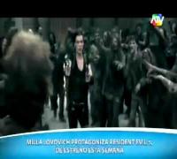 Entrevista con Milla Jovovich Historia de Todas sus Peliculas