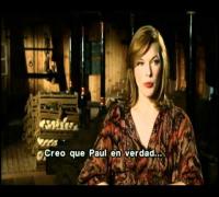 Entrevista con Milla Jovovich / Los 3 Mosqueteros