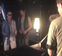 "Exclusive Behind the Scenes video from the ""I Like It"" video shoot with Pitbull"