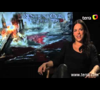 Exclusive interview with Michelle Rodríguez from Resident Evil: Retribution