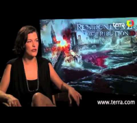 Exclusive interview with Milla Jovovich from Resident Evil: Retribution