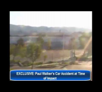 EXCLUSIVE: Paul Walker 's Car Accident at Time of Impact Caught in surveillance camera