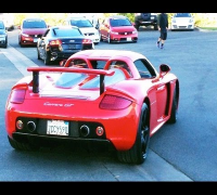 EXCLUSIVE VIDEO : Car of Paul Walker before the Crash ( PORSCHE CARRERA GT ) [Full HD]