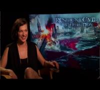 EXCLUSIVE VIDEO: Milla Jovovich Talks 'Resident Evil: Retribution'