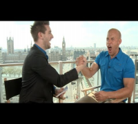 Fast and Furious 6 interviews - Vin Diesel, Paul Walker, Michelle Rodriguez, Brewster, Tyrese