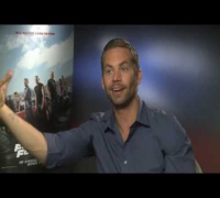 Fast & Furious 6 -- Paul Walker Interview