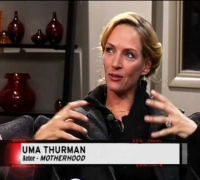 Festival Updates Interview : Uma Thurman in MOTHERHOOD