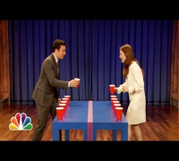 Flip Cup with Julianne Moore