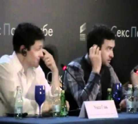 Friends With Benefits Moscow Photocall