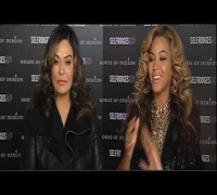 Full length interview with Beyoncé and Tina Knowles at Selfridges - September 2011