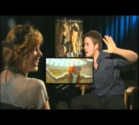 Funny interview with Milla Jovovich and Wentworth Miller by Jonas van Tielen.
